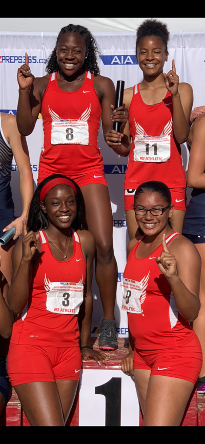 Agua Fria relay team captures state title, school record