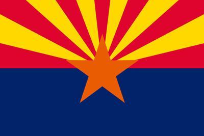 Flag of Arizona, USA