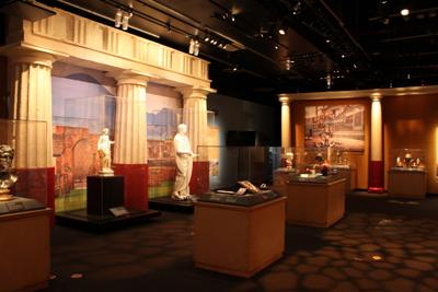 Pompeii: The Exhibition is a stirring look at the city before and after the eruption of Mount Vesuvius.