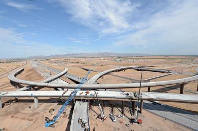 Map Of Loop 303 Arizona.Adot Hosts Public Hearing On Loop 303 Extension News