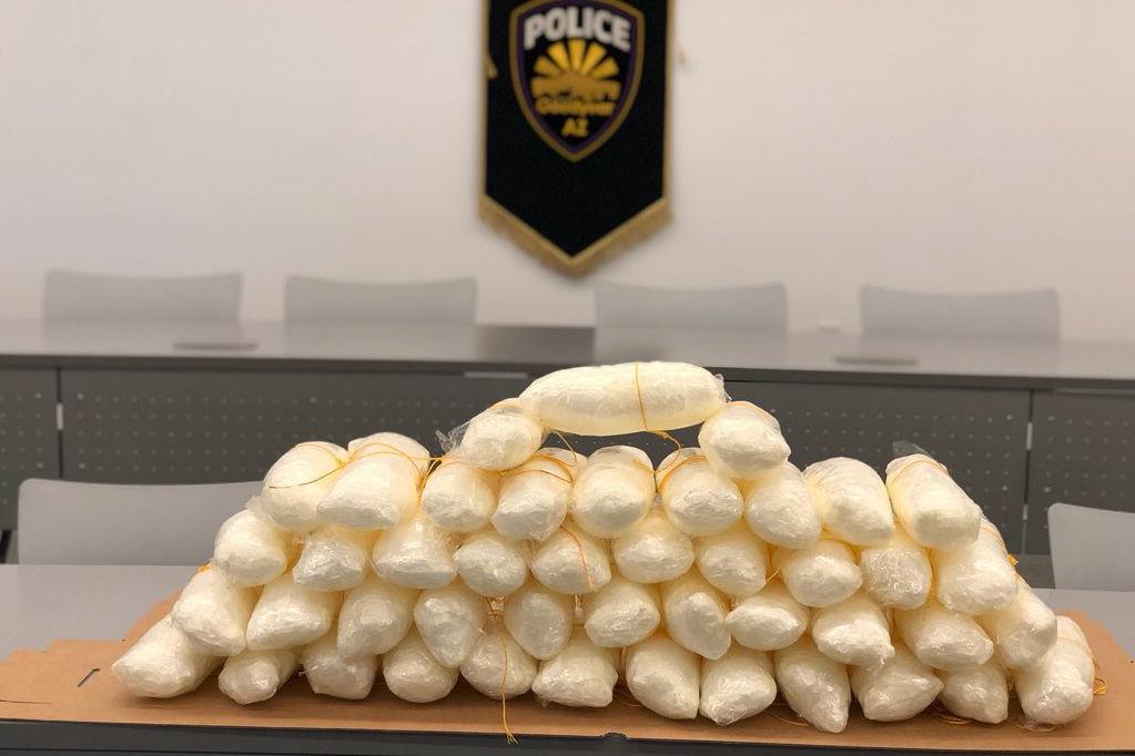 Goodyear police seized 54 pounds of methamphetamine police briefs