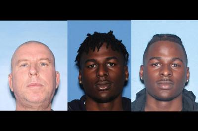 Doughnut cook drug dealers arrested bakery robbery Joseph Conklin Durrell Whitfield Terrell