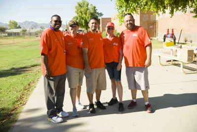 Avondale School receives free Home Depot paint makeover