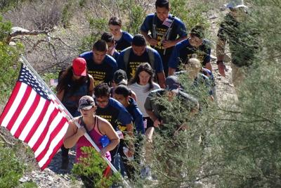 Skyline Park's Mountain Wash Trail Veterans Day Hike