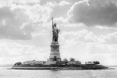 Statue of Liberty, circa 1905.