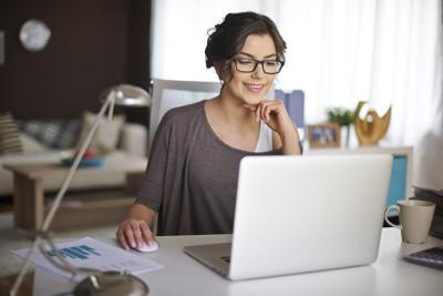 Working at home allow me for flexible working