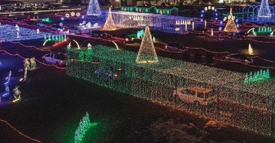 Christmas In Color.Holiday Festivities Light Up Goodyear Ballpark Community