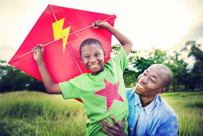 Holiday Vacation Activity Concept Kite Flying Transportation