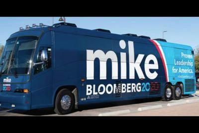 """Mike Bloomberg's 2020 """"Get it Done Express"""""""