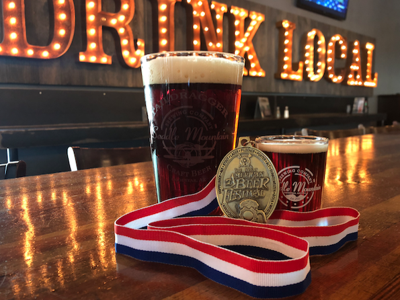 Saddle Mountain won gold at the 2017 Great American Beer Festival.