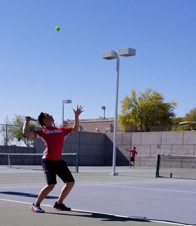 Curtis climbs ranks of Agua Fria tennis with motivation