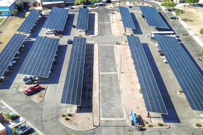 Tonopah Valley partners with APS, installs solar panels