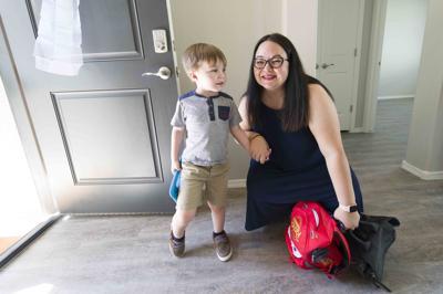 U.S. Air Force veteran, mom receives rental house donation