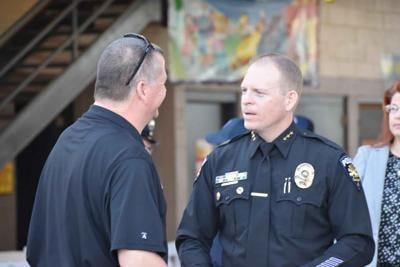 Former Goodyear Deputy Police Chief Justin Hughes