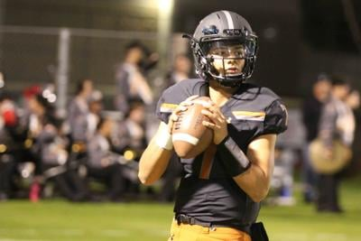 Sophomore quarterback Adryan Lara