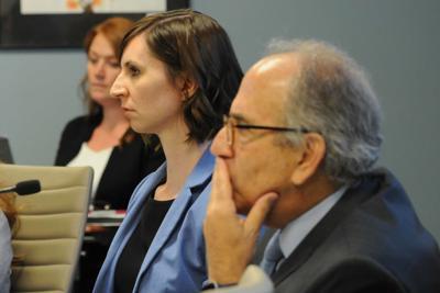 State schools Superintendent Kathy Hoffman Education Board member Lucas Narducci