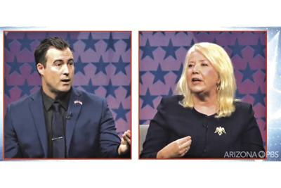 Rep. Debbie Lesko and challenger Michael Muscato