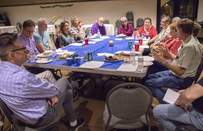 St. Peter's Integrity Group fellowships together.