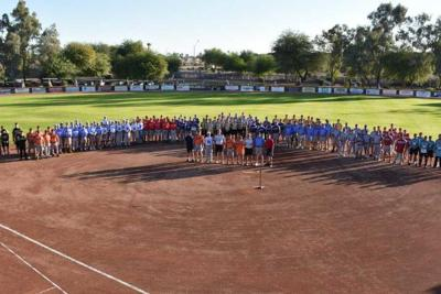 Pebble Creek's Senior Softball Association line up