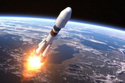Heavy Carrier Rocket Launch