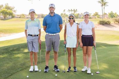 Owen Bolles, Nikki Bowen and Eva Heinz U.S. Kids World Golf Championship