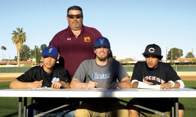 Tolleson Trio Signs With Colleges Archives