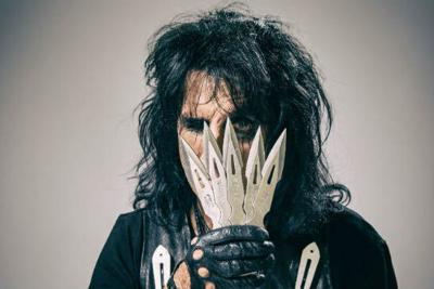 Alice Cooper and his Solid Rock Teen Centers