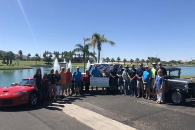 Estrella Mountain Car Club donates $10,000 to West-MEC