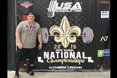Mellon advances powerlifting career with college commitment Verrado High ASU