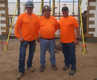Gary Fetters, Jim Ritchheart and Rod Fetters