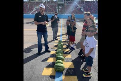 NASCAR driver Ross Chastain HopeKids