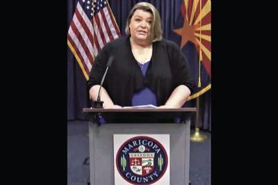 Marcy Flanagan, executive director of Maricopa County Department of Public Health
