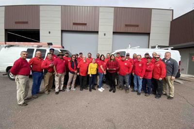 The Avondale Elementary School District maintenance team