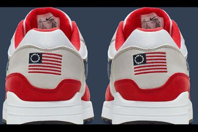 Betsy Ross Controversy hampers Goodyear's Nike deal