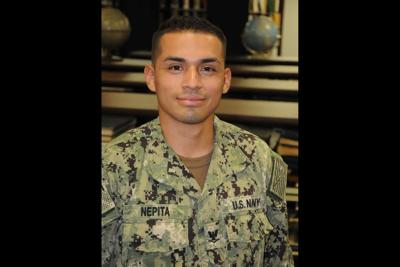 Petty Officer Third Class Martin Nepita