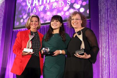 Sherri Collins, Reyna Montoya and Cindy Dach