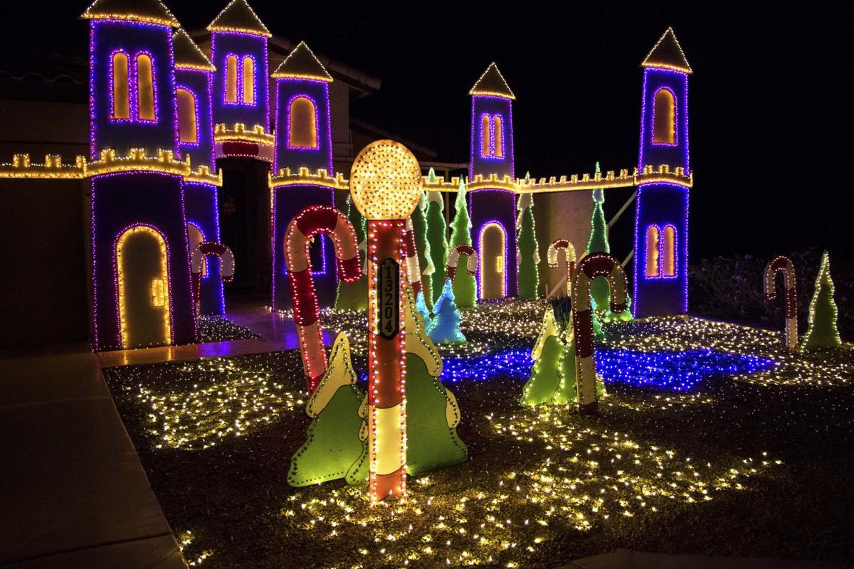 robert sandas santas workshop light display took eight months to create and two months to set - How To Make A Christmas Light Show
