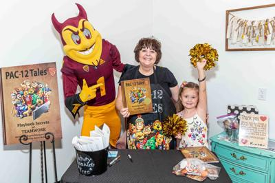 College mascots share life lessons in new book