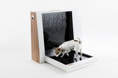 This Automated Pet Toilet Is Like A Litter Box For Dogs
