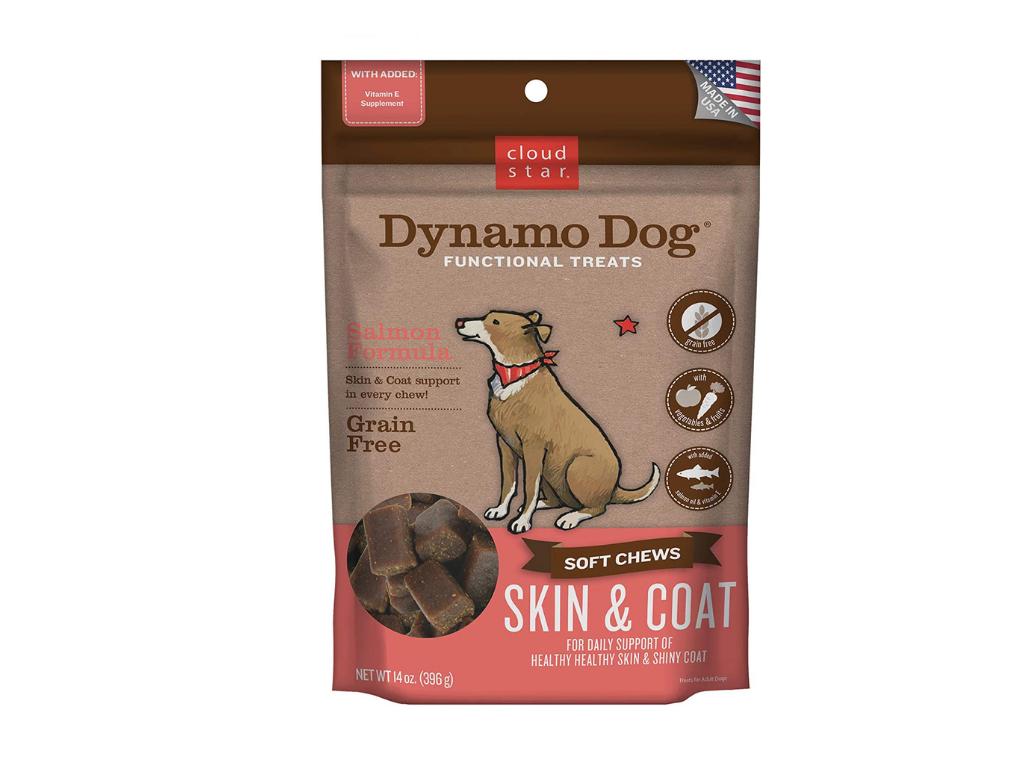 Cloud Star Dynamo Dog Skin & Coat Functional Soft Chews