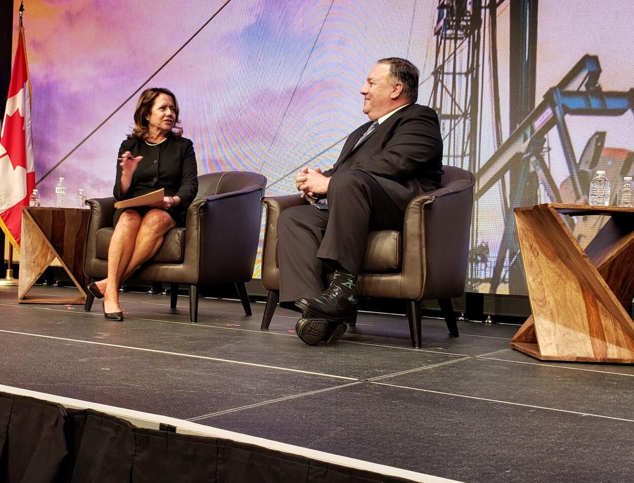 Pompeo: American energy has a role to play in easing geopolitical tensions