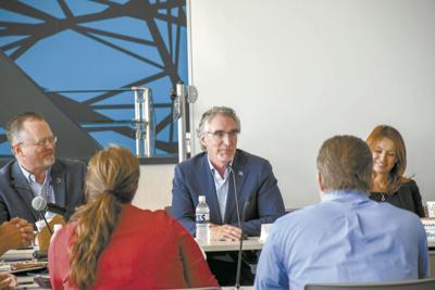 Williams County school districts, Gov. Doug Burgum talk about collaboration