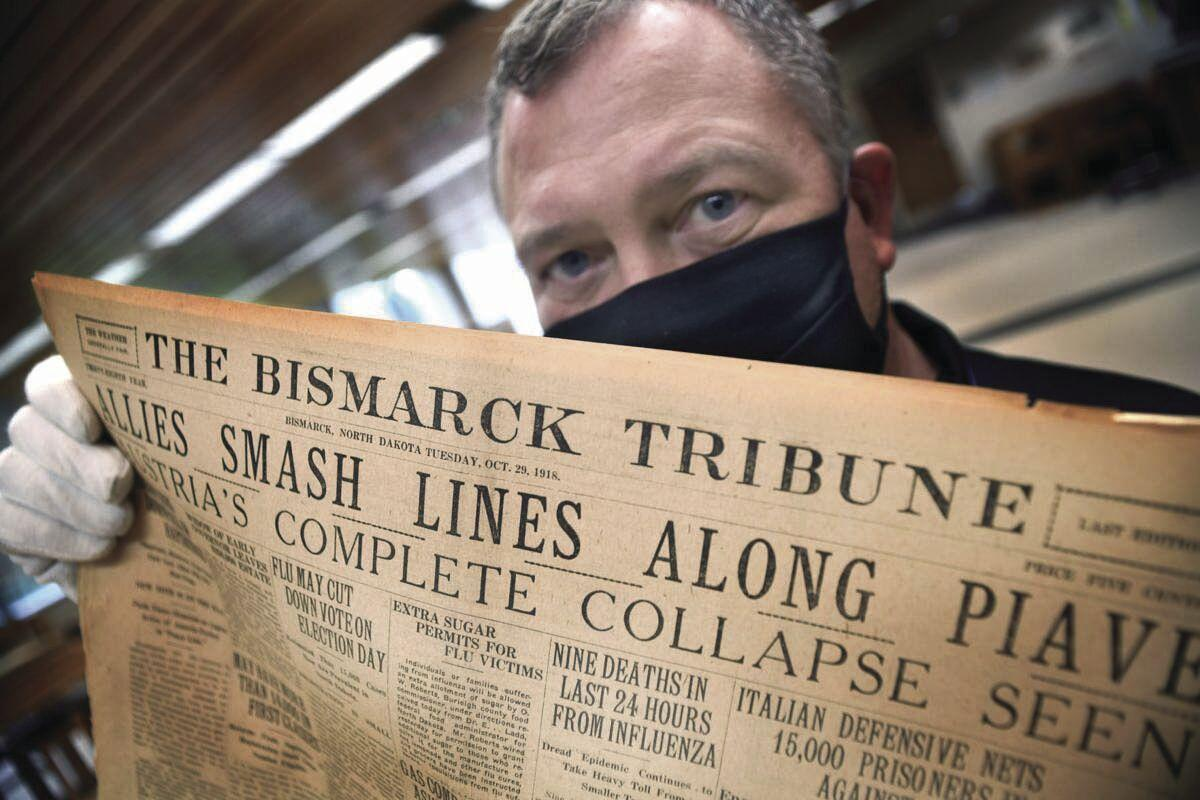 Past and present pandemic stories tell of North Dakotans' personal tolls