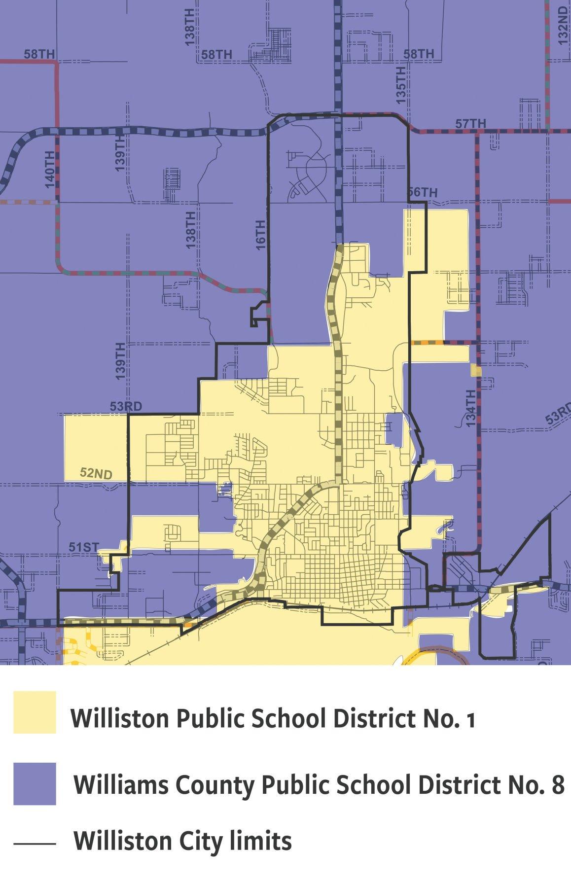 School district map