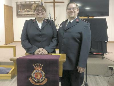 New Salvation Army officers take over in Williston