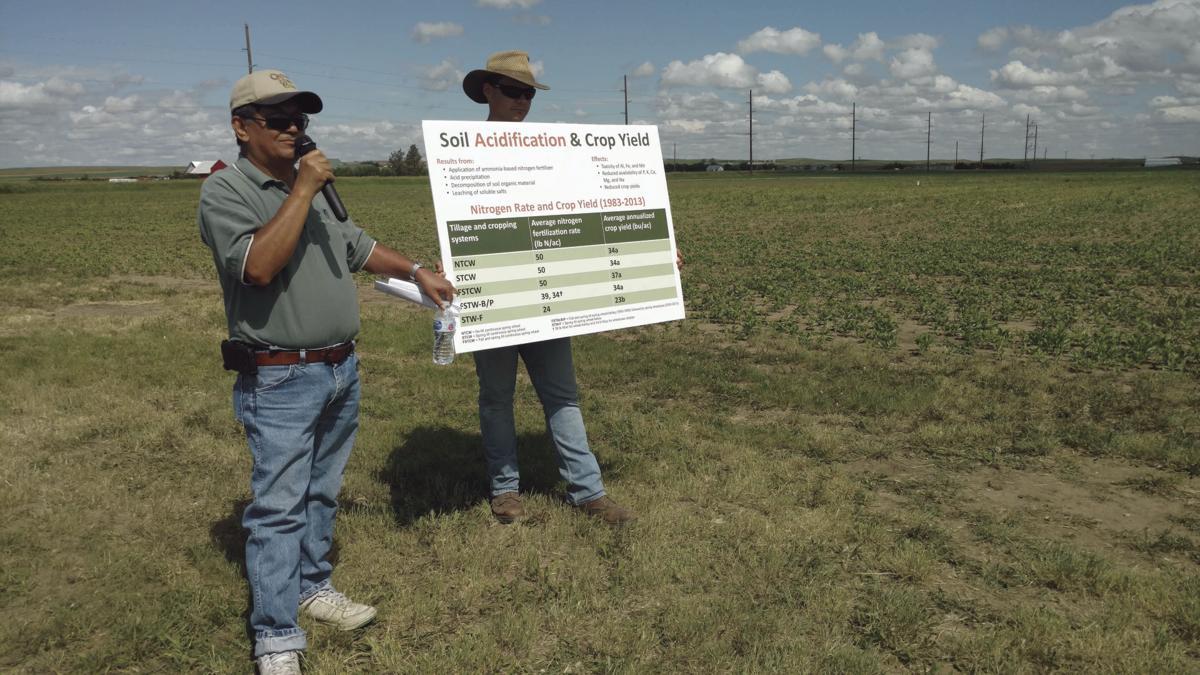 soil acidification 2018 EARC USDA-ARS dryland field day in sidney