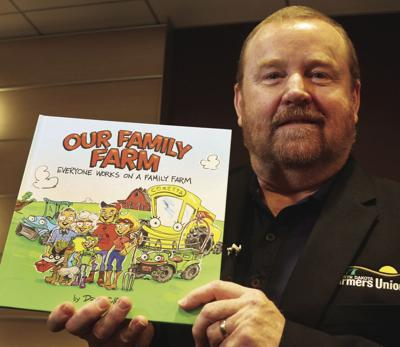 Getting across success, fun of farming, NDFU kids book has sold 4K copies