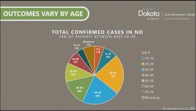 case breakdown by age group