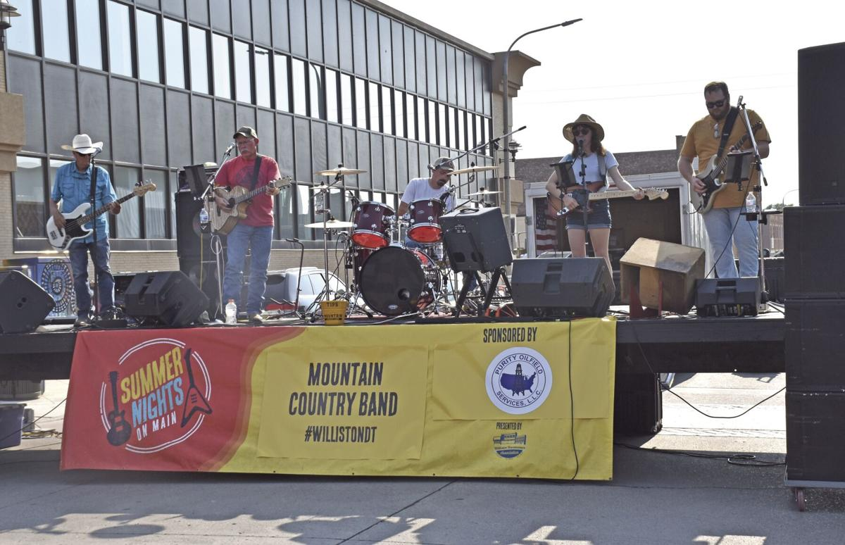 Summer Nights: Mountain Country Band