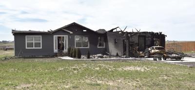 Allan home burns